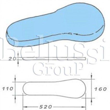 Prasulec forma gruszki podgrzewany elektrycznie z pokrowcem  (II/Ł/2)