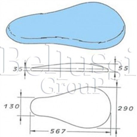 Prasulec forma poduszki podgrzewany elektrycznie z pokrowcem (II/Ł/2)