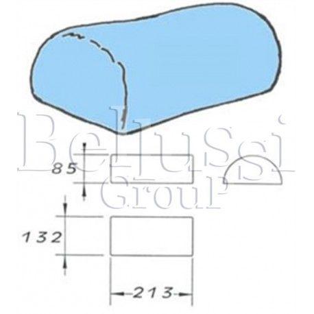 Prasulec forma barki męskie z pokrowcem