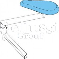 Buck base without a form for ironing tables: MP/A, MP/F, MP/FC/A, MP/FC, MP/F/PV, MP/F-A/PV, MP/F-FC/PV.