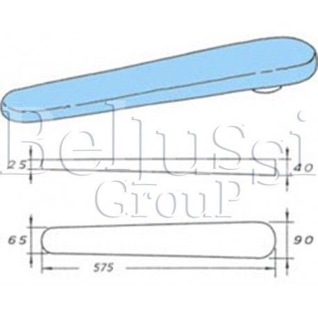Prasulec forma rękawa 575 mm  podgrzewany elektrycznie z pokrowcem (II/Ł/2)