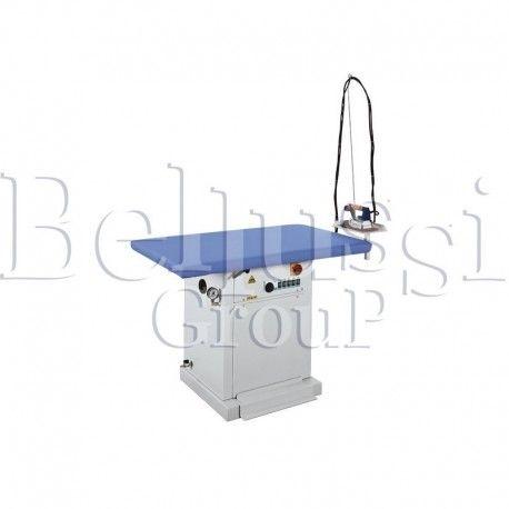 Stół prasowalniczy prostokątny MP/F (zdjęcie przedstawia urządzenie wraz z akcesoriami sprzedawanymi osobno)