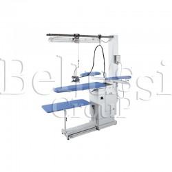 Stół prasowalniczy z regulacją wysokości BR/A-RS (zdjęcie przedstawia urządzenie wraz z akcesoriami sprzedawanymi osobno)