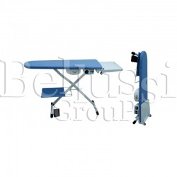 Comelflex-S folding universal ironing table with height control and blowing