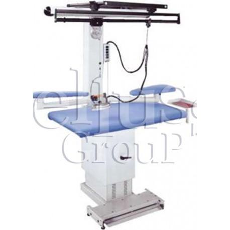 Stół  prasowalniczy prostokątny MP/A-S (zdjęcie przedstawia urządzenie wraz z akcesoriami sprzedawanymi osobno)