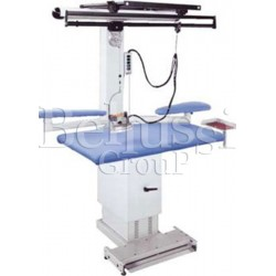 MP/A-R rectangular ironing table with height adjustment