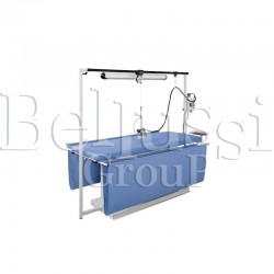 MP/FC/A/T 250X75 rectangular ironing table for large size materials