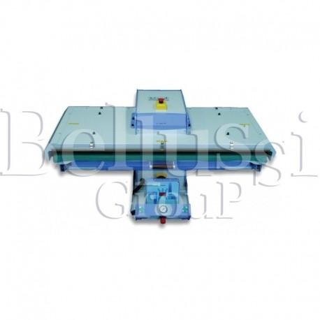Pneumatic fusing press Comel PL/T 1100 PNEUM