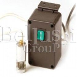 System Lux lamp with aluminium casing and halogen lamp. Ideal for use with sewing machines.