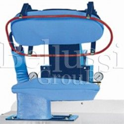 Manual ironing press ST-702/T with plate for trouser's hips ironing