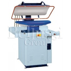 LV-800/BB Pneumatic press with nickled polishe plate to ironing shirt's corps