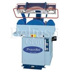 CT - PC pneumatic press with plate for ironing cuffs, collars and bottom parts of the shirt