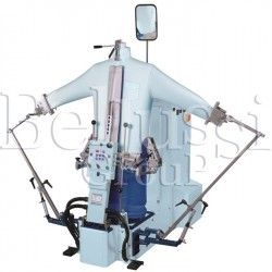 Universal dummy for ironing shirts without steam generator