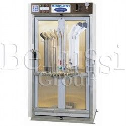 Rotational cabin for socks SIRIO -291-CALZE with steam generator