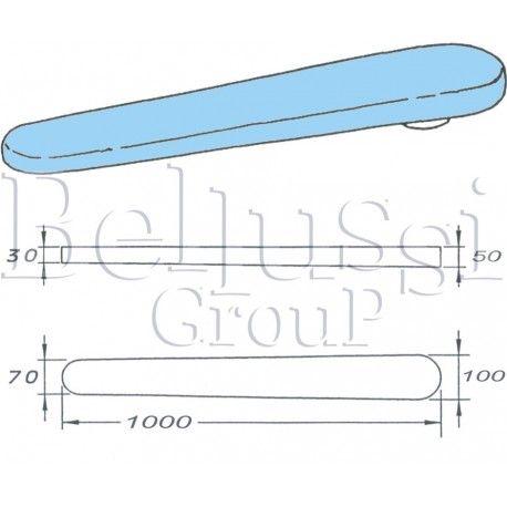 Prasulec forma rękawa 1000 mm  podgrzewany elektrycznie z pokrowcem