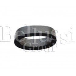 Gasket of glass tube in FB/F steam generator
