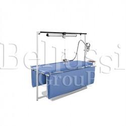 Stół prasowalniczy prostokątny do zasłon MP/F/T 200x75 (zdjęcie przedstawia urządzenie wraz z akcesoriami sprzedawanymi osobno)