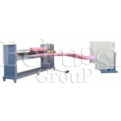 Automatic machine for diagonal cutting