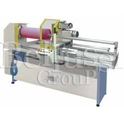 Manual machine for cutting beams