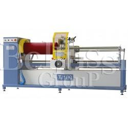 Maszyna do cięcia lamówki z belki T/100E
