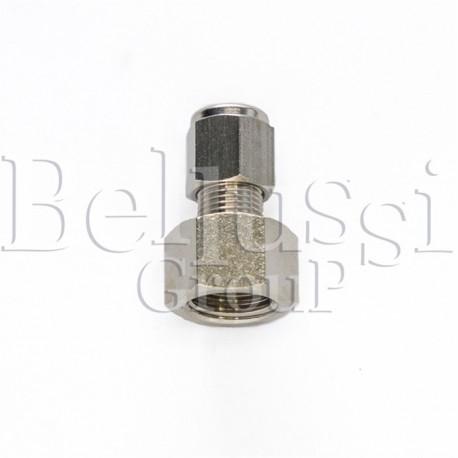 Złączka 1/4 GW na rurkę miedzianą 6 mm