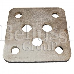 Heater flange for Pratika steam generator