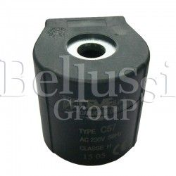 Half circle winding of CEME (A0229) solenoid valve