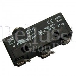 Microswitch of extractor foot button