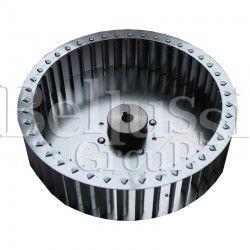 Rotor of industrial extractor motor