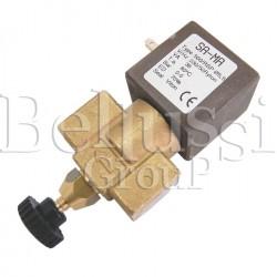 Elektrozawór przelotowy do stołów do stabilizacji dzianin MP/F/PV