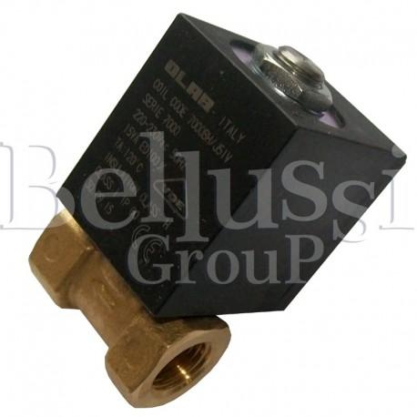 Elektrozawór przelotowy 1/4-1/4 dn3 230V-50Hz do wytwornic i stołów prasowalniczych