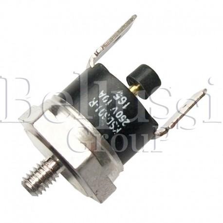 Zabezpieczenie termiczne z guzikiem do 165 C do grzałek aluminiowych A0970/RA012 do wytwornicy Pratika oraz Comelux Maxi C5 i Fu