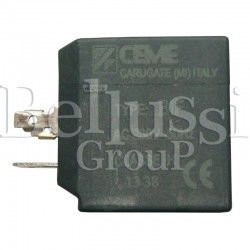 Winding of CEME A0395 solenoid valve