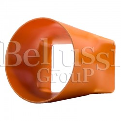 Redukcja pomarańczowa PCV wylotu odsysacza FR/F, BR/A, MP/F/PV
