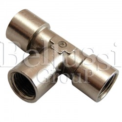 Connecting rod-tee for FB/F steam generator
