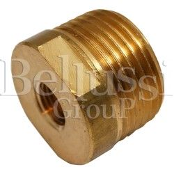 Brass reduction for electropump