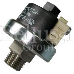 Czujnik ciśnienia (regulator ciśnienia) do 9 bar 1/4 GZ INOX do wytwornic i stołów Battistella
