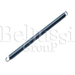 Sprężynka długa naciągania pokrowca do stołów i termopodklejarek