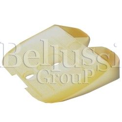 Yellow steam guard for Jolly iron