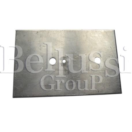 Płytka aluminiowa do grzałki