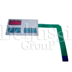 Display termostatu elektronicznego do termopodklejarek