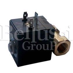 Elektrozawór przelotowy (wodny) do wytwornicy FB/F z kwadratową cewką