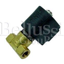 Trough big water solenoid valve for FB/F steam generator