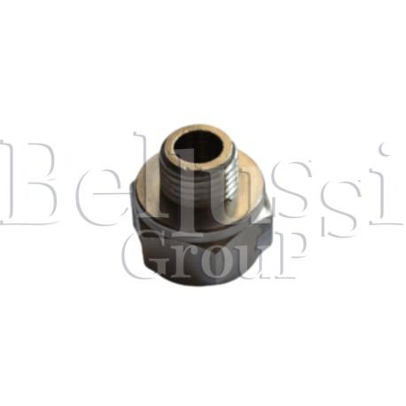"Reduction 3/8"" (internal thread) x 1/4"" (external thread), drain valve - electropump for steam generators up to 7 l"