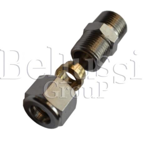 Złączka 3/8 GZ na rurkę miedzianą 10 mm do wytwornic pary do 5 l