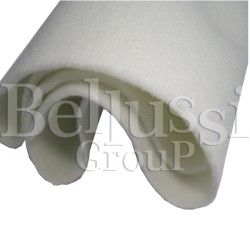 Polyester fel for ironing boards