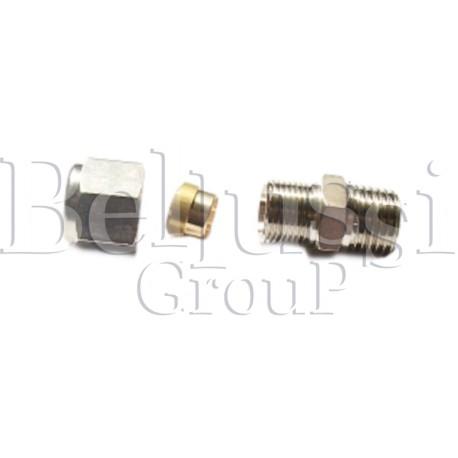 Złączka 1/4 GZ na rurkę miedzianą 6 mm