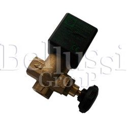 Big solenoid valve 1/4, with square and regulation
