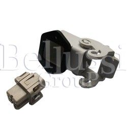 Angular socket, 4-pins for ILME plug in Comel irons (A0046)