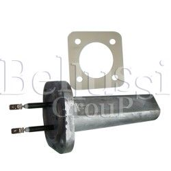 Aluminium heater 1900 W with gasket for 5 L steam generator